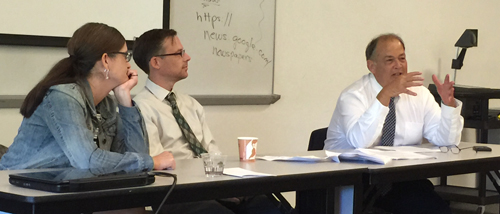 Excellence in Journalism Conference: Rob Kuznia, Rebecca Kimitch Frank Suraci